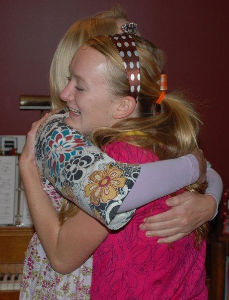 hillary hug
