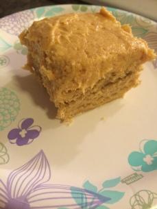 I just made a little dessert