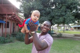superman and daddy